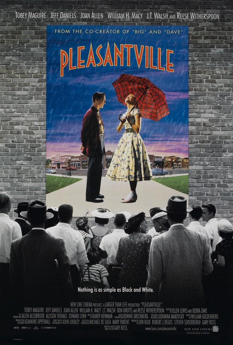 not so pleasantville The shots in the album show that each memory in pleasantville was perfect audience is surprised to see a not so fairy tale-like scenario: a busy high school crowd the following scene is not what we expected as it shows our world, not a fairy tale setting.