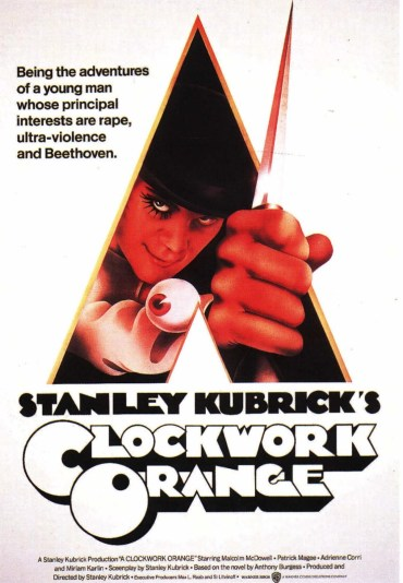 a clockwork orange movie poster 1