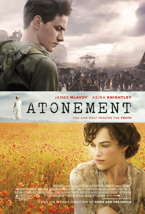 Atonement movie poster domestic onesheet